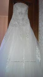 Свадебное платье 160-165 р.