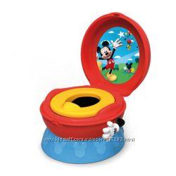 Mickey Mouse детский музыкальный горшок 3в1 3-in-1 Celebration Potty System