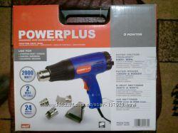 Будівельний фен фірми Powerplus