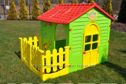 Детский игровой домик с террасой