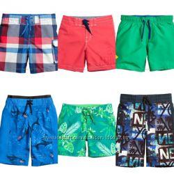 Плавки-шорты, разные модели, фирменные, 4-15