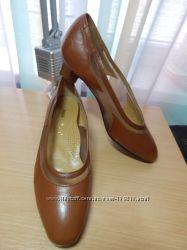 Кожаные туфли, Италия 25см стелька
