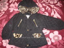 Продам куртку для девочки зимнюю р110