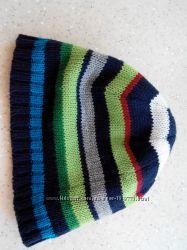 Полосатая шапочка Адамс на подкладке