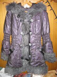 Куртка удлинённая женская зимняя