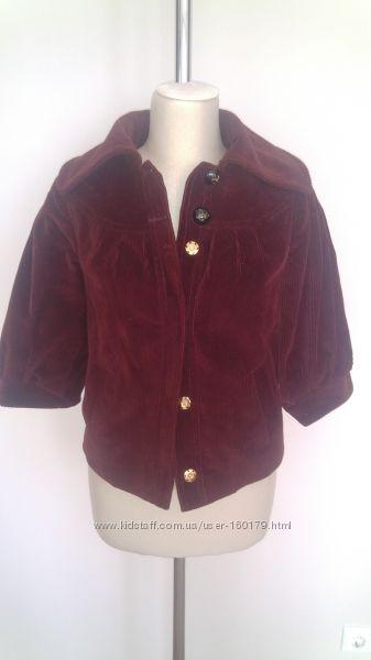 Куртка-пиджак из вельвета на подкладке