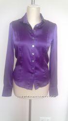Блузка фирмы BGN из натурального шелка с эластаном.