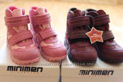 Ботинки Minimen для девочек 26 размер