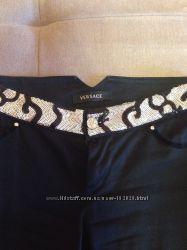 Классические черные брюки Versace