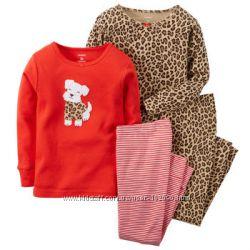 Пижамы для девочки Carters 4т и 5т