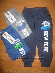 Спортивные штаны для мальчиков на рост  98-104-110-116-122-128см.