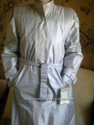 Плащ на утеплённой съёмной  подкладке, одет 2 раза , размер 44-48