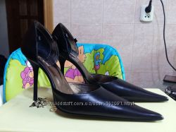 Итальянские модельные туфли GODE, р. 35. Обуты 1 раз