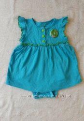 Платье ромпер FADED GLORY 6-9 мес