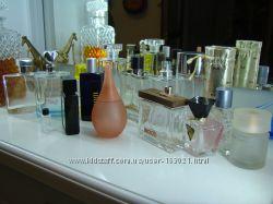 Для коллекционеров флаконы из-под парфюма