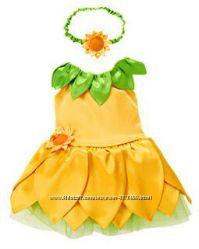 Карнавальный костюм подсолнуха на 6-12мес