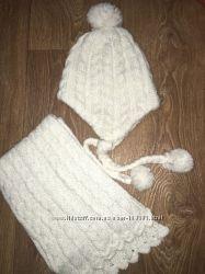 набор шапка шарф  Chicco accessoreis