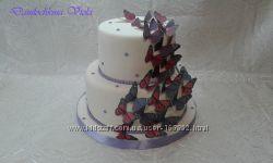 Свадебный торт  на заказ в Киеве, Соломенка