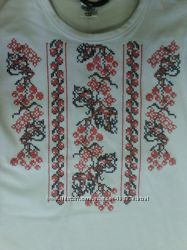 трикотажные вышиванки Фламинго, Робинзон 116-134р