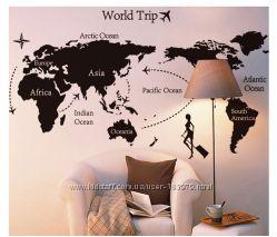 Карта мира печать, Ваш размер