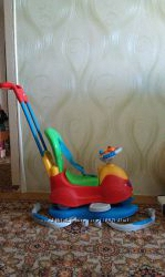 Автомобиль-качалка Quattro 4в1 фирмы Chicco