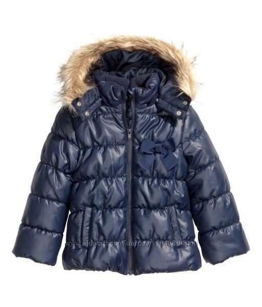 Еврозима курточки для девочек от H&M, размер 92