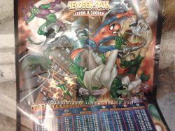 Человек-паук, супергонки, Шрек