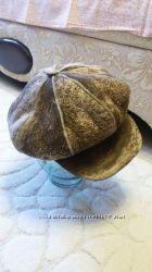 Зимняя шапка на натуральной овчине