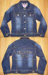 Новая джинсовая курточка для девочки 110-116р.