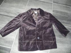 Фирменный велюровый пиджак