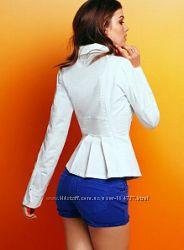 Белая куртка Victorias Secret XS S оригинал хлопок
