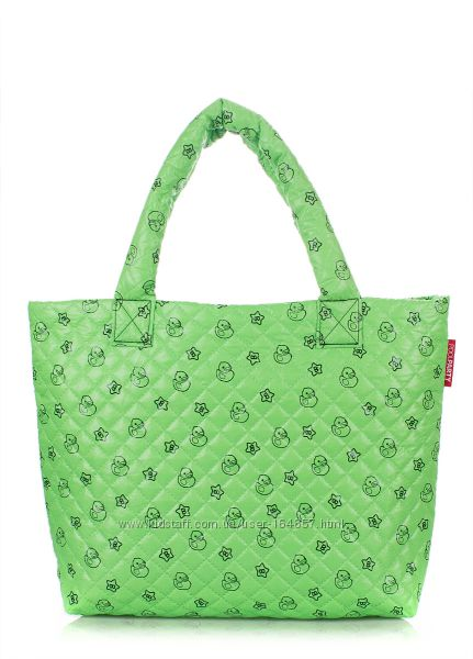 3db7d636bd33 Дутая сумка POOLPARTY с принтом утка, губка боб, снежинки. Женские сумки -  Kidstaff | №16380587