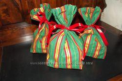 мешочки для подарков, конфет