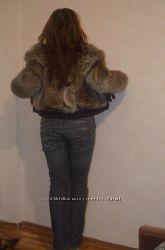 меховая курточка 44-46 рамер