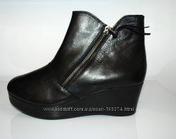 MEXX кожаные  ботинки  р. 38