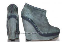 Mai Piu Senza замшевые ботинки на платформе р. 40