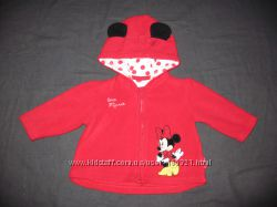 флисовая кофточка с Минни Disney на 3-6 месяцев