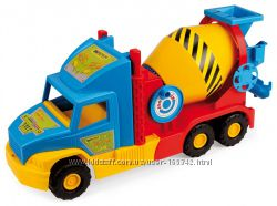 Игрушечная бетономешалка Super Truck 36590