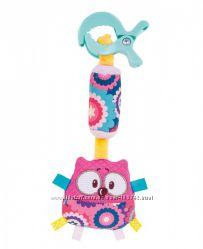 Подвесная игрушка плюшевая с колокольчиком Лесные друзья
