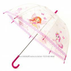 Прозрачные Детские зонты английской фирмы Zest. Большой выбор в наличии