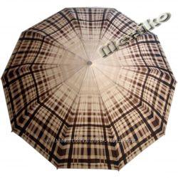 Бесплатная доставка. Стильный зонт ZEST полуавтомат, серия 10 спиц, Сантия