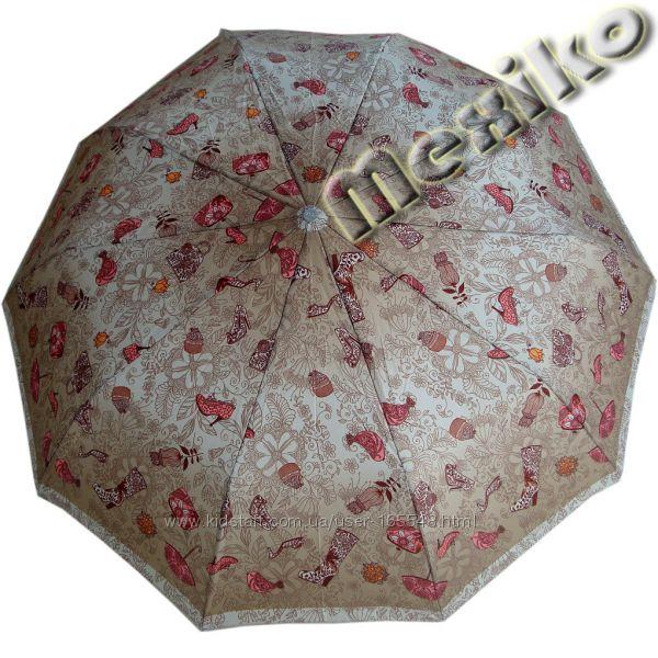 Модный зонт ZEST полуавтомат, серия 10 спиц, Каприз