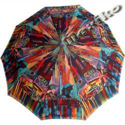 Бесплатная доставка. Стильный зонт ZEST полуавтомат, серия 10 спиц, Кейтлайн