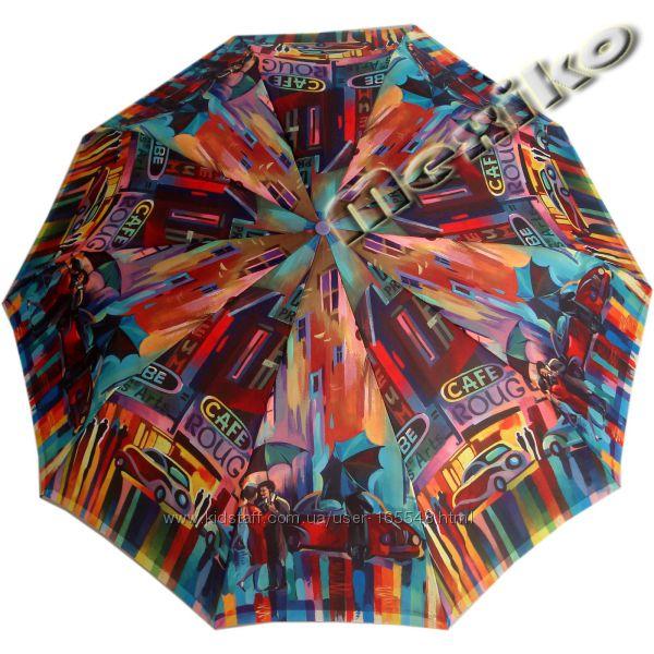 Стильный зонт ZEST полуавтомат серия 10 спиц, Кейтлайн