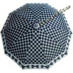 Бесплатная доставка. Модный зонт ZEST, полуавтомат, серия 10 спиц, Ивори