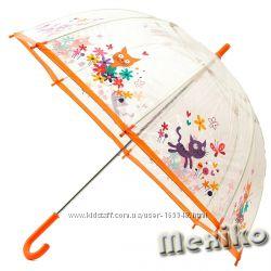Прозрачный детский зонт Zest, произв. Англия. Расцветка Котики