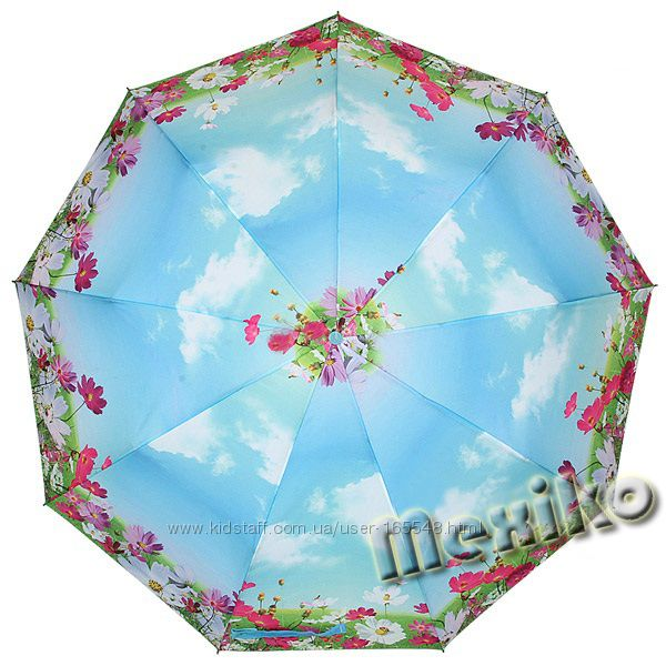 Зонт ZEST полн. автомат-3 слож, 9 спиц. Цена 650грн