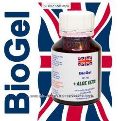 Биогель, средство для педикюра и маникюра с Алое Вера, ремоувер.