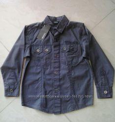 Рубашки фирма PRIMARK REBEL, GEORGE для мальчиков от 1, 5 до 10 лет.
