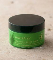 Увлажняющая ночная маска с алоэ Innisfree Aloe Revital Sleeping Pack